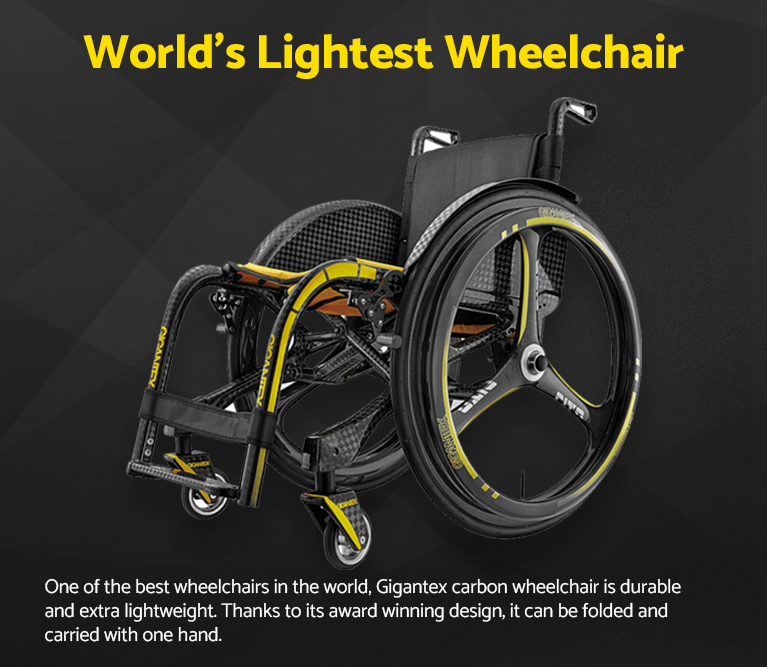 World's Lightest Wheelchair