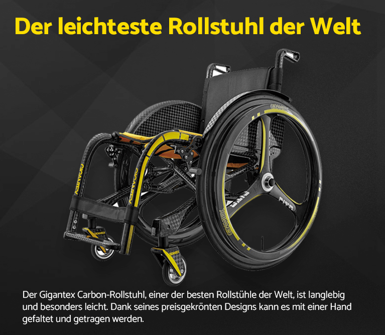 Der leichteste Rollstuhl der Welt