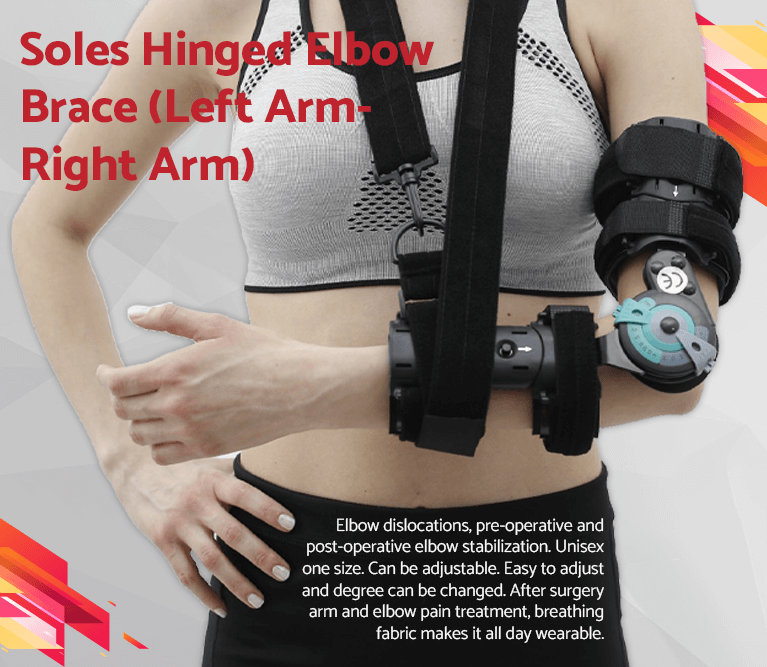 Soles Hinged Elbow Brace (Left Arm-Right Arm)