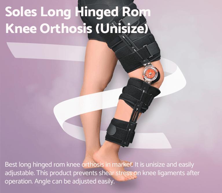 Soles Long Hinged Rom Knee Orthosis (Unisize)