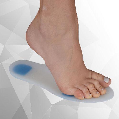 SOLES Silikon Schuh Einlegesohlen (Paar) SLS-101